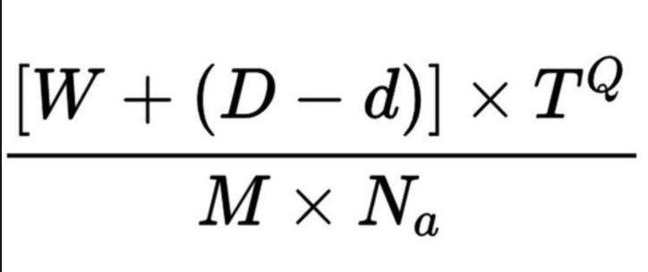 Blue Monday Equation