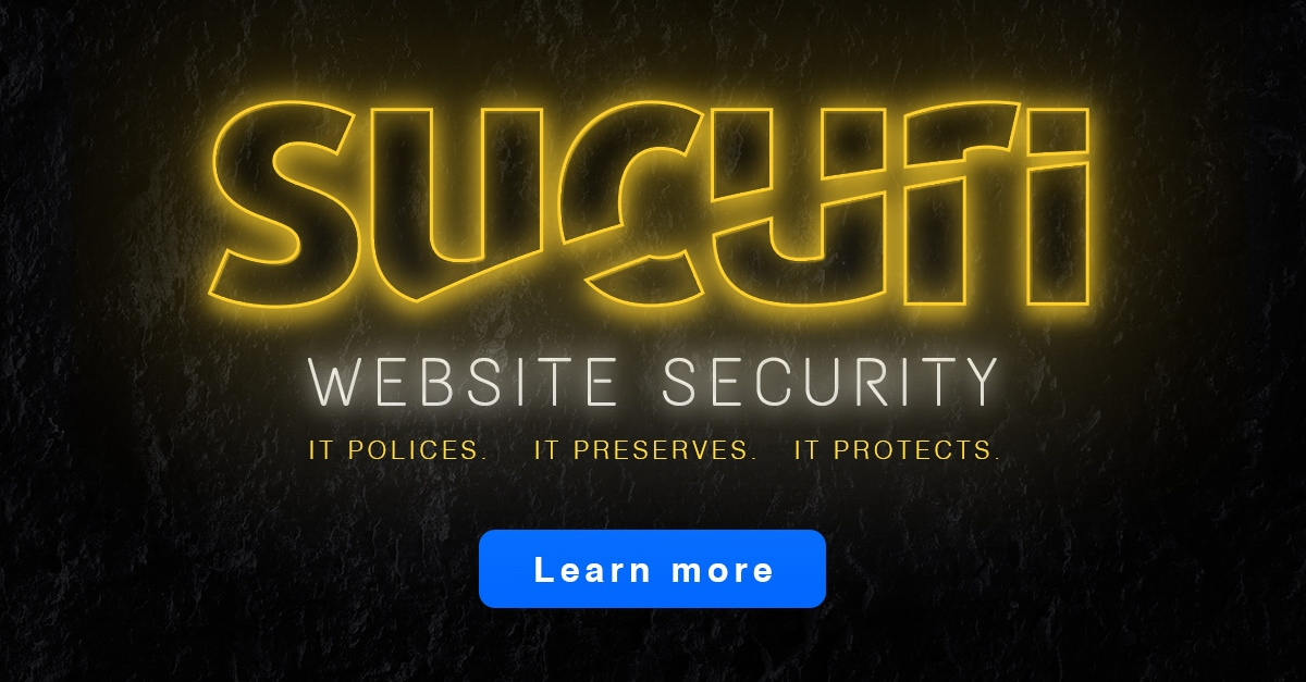 More About Sucuri Website Security From Tso Host