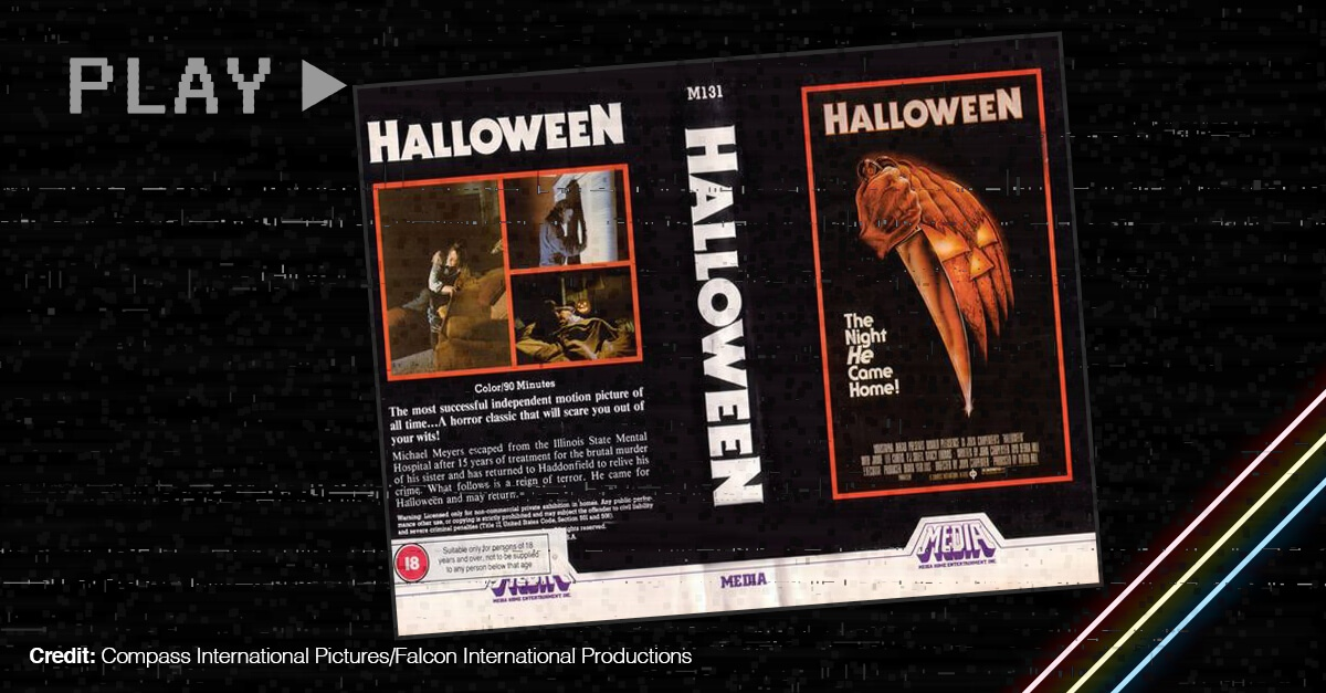 Vhs Covers Of Horror Movie Halloween