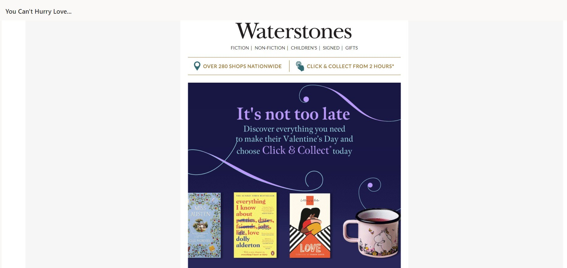 Waterstones Edit